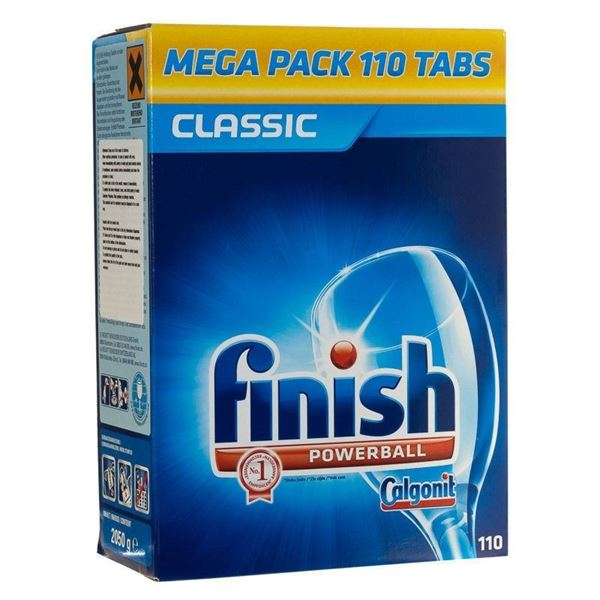 Picture of FINISH DISHWASHER TABLETS (Pack of 110)