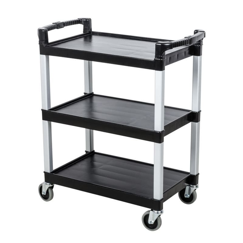 Mobile Service Cart 3 Shelf Wessex Cleaning Equipment