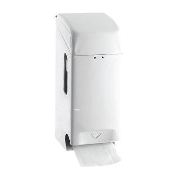 Picture of METAL 2 ROLL STD TOILET ROLL DISPENSER - WHITE