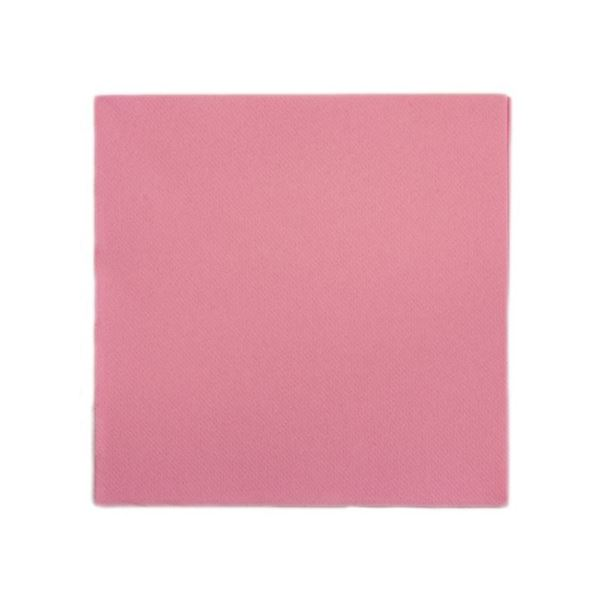 Picture of 40CM 2PLY PINK NAPKINS (Case 0f 2000)