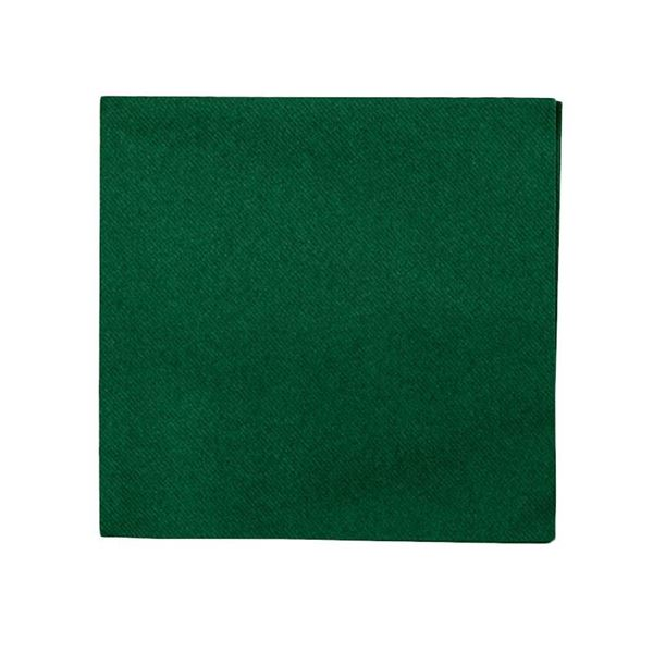 Picture of FOREST GREEN 2PLY NAPKINS 40X40CM (Case 0f 2000)