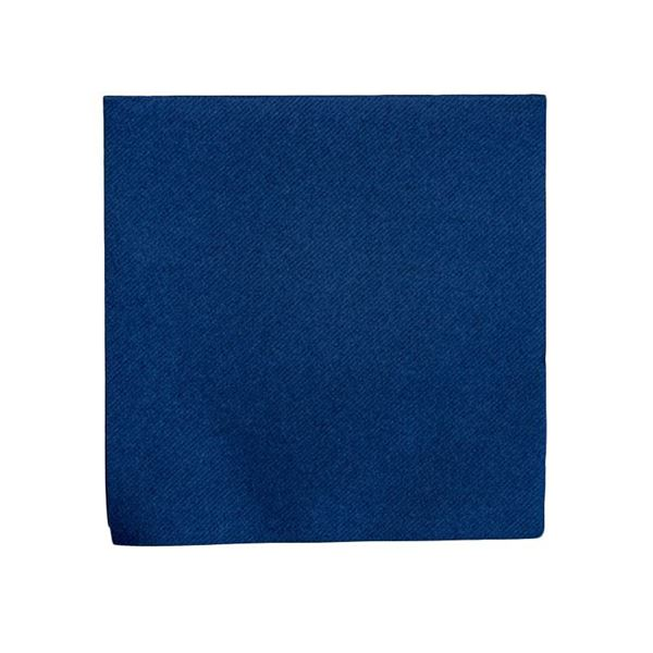 Picture of NAVY BLUE 2PLY NAPKINS 40X40CM (Case 0f 2000)