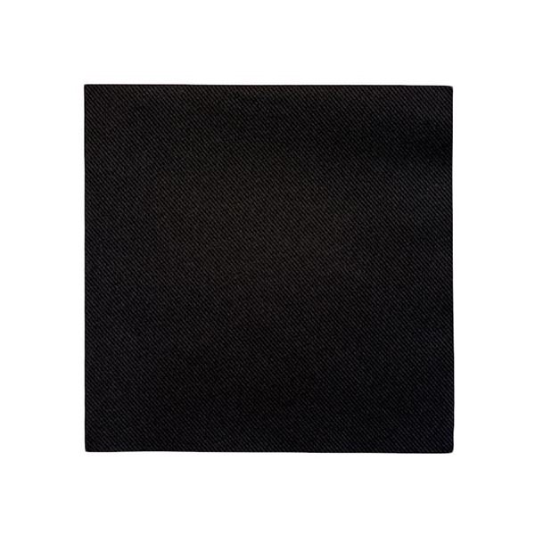 Picture of BLACK 2PLY COCKTAIL NAPKINS 24X24CM (Case of 4000)