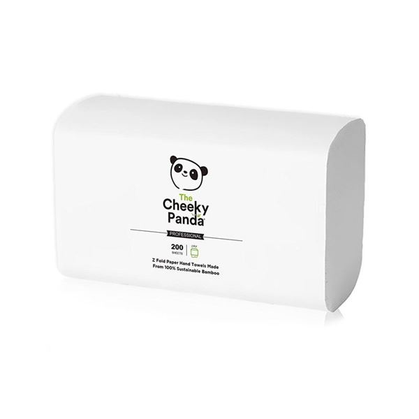 Picture of Cheeky Panda 2-Ply Z-Fold Hand Towels (3000 Towels)