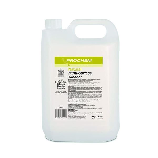 Picture of PROCHEM NATURAL FLOOR CLEANER - 5 Litre (Case of 2) E457