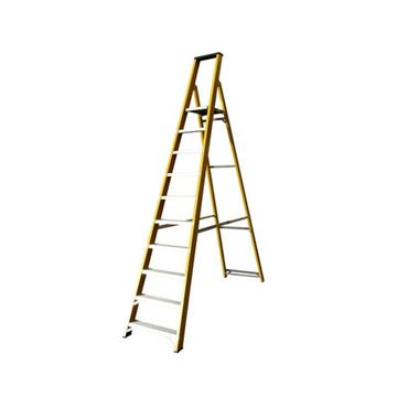 Picture of GLASSFIBRE STEP LADDER 10 STEP