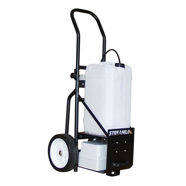 Picture of STREAMFLO TROLLEY (25 Litres) - INCLUDES DIGITAL CONTROLLER, BATTERY AND CHARGER