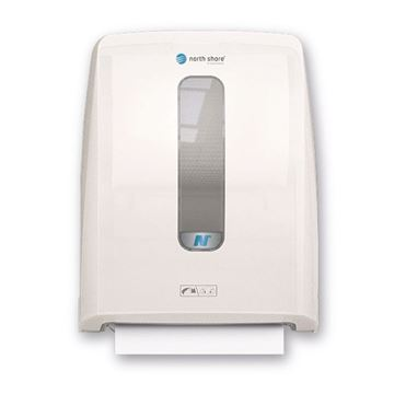 Picture of NORTH SHORE -  HANDS FREE HAND TOWEL DISPENSER - Ice White