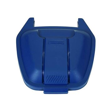 Picture of  RUBBERMAID R002223 LID FOR MOBILE CONTAINER - BLUE