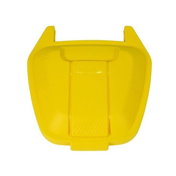 Picture of RUBBERMAID R002219 LID FOR MOBILE CONTAINER - YELLOW