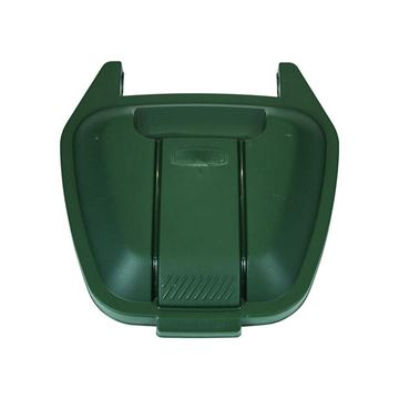 Picture of RUBBERMAID R002222 LID FOR MOBILE CONTAINER - GREEN