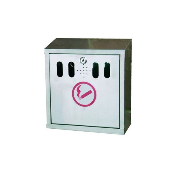 Picture of WALL MOUNTED CIGARETTE ASH TRAY BIN