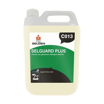 Picture of SELDEN SELGUARD PLUS / GLASSWARE SANITISER - 5 Litre C013