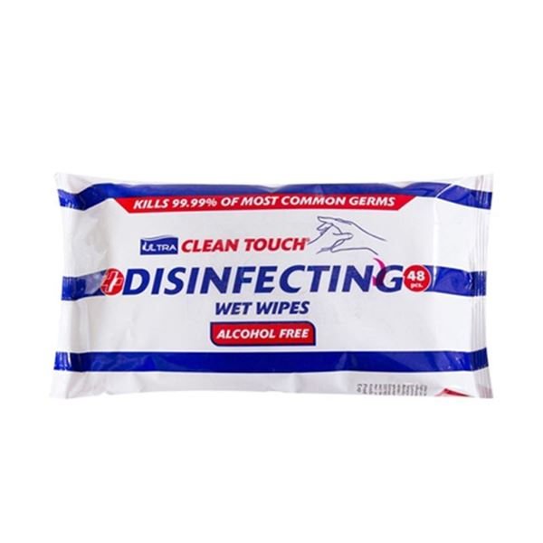 Picture of ULTRA CLEAN TOUCH DISINFECTANT WET WIPES (Pack of 48)