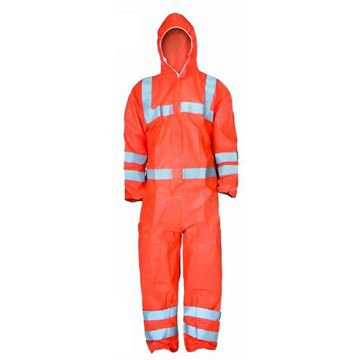 Picture of ORANGE TYPE 5/6 REUSEABLE COVERALL