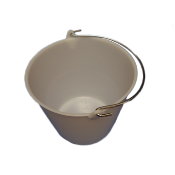 Picture of WHITE BUCKET - 10 Litre