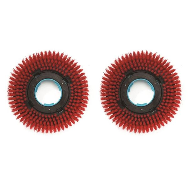 Picture of i-Mop Stiff Scrub Brushes - Red (Set of 2)
