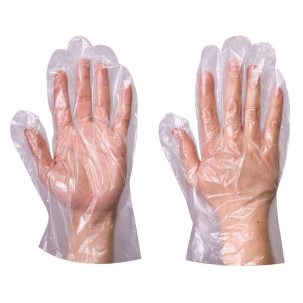 Picture of POLYTHENE GLOVES PK 100