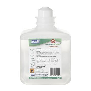 Picture of Deb Instant Foam Hand Wash Sanitiser - 1 Litre (Pack of 6)