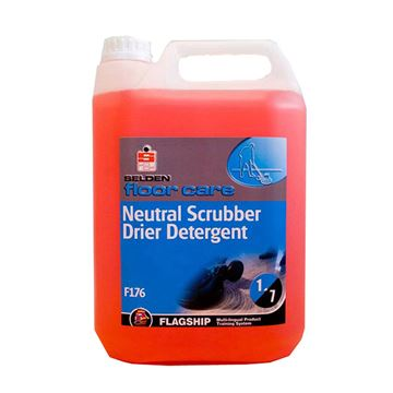 Picture of SELDEN NEUTRAL SCRUBBER DRIER DETERGENT - 5 Litre F176