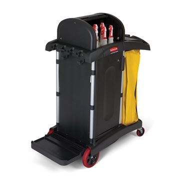 Picture of RUBBERMAID HIGH SECURITY CLEANING CART