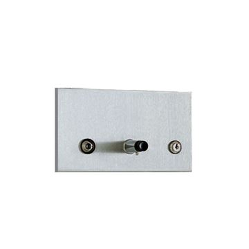 Picture of DOLPHIN STAINLESS STEEL HORIZONTAL RECESSED DISPENSER