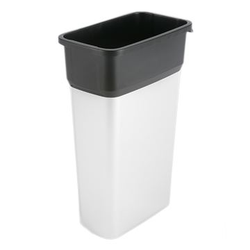 Picture of VILEDA GEO METALIC LOOK BIN - 70 Litre 137661