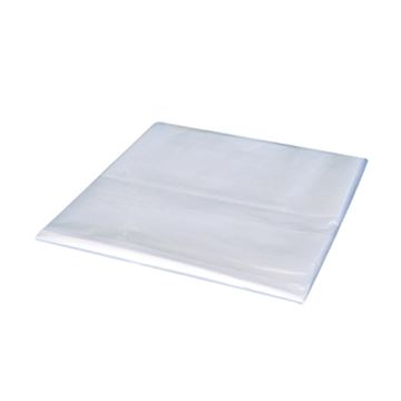 Picture of CLEAR SQUARE BIN LINERS (Case of 500)
