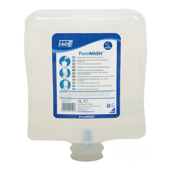 Picture of DEB PURE CARTRIDGE SOAP - 2 Litre (Case of 4)