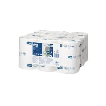 Picture of TORK EXTRA SOFT CORELESS TOILET ROLL 3PLY WHITE 472139 (Case of 18)