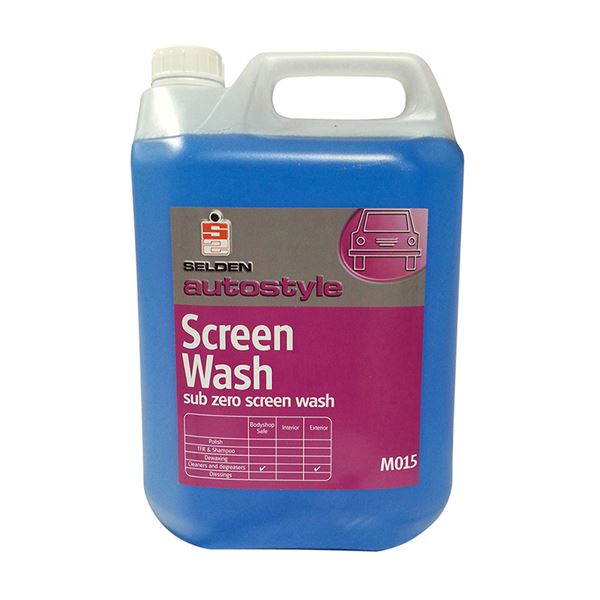Picture of SELDEN SCREEN WASH - 5 Litre M015