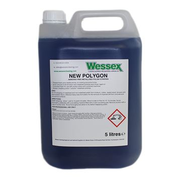 Picture of NEW POLYGON FLOOR POLISH STRIPPER - 5 Litre