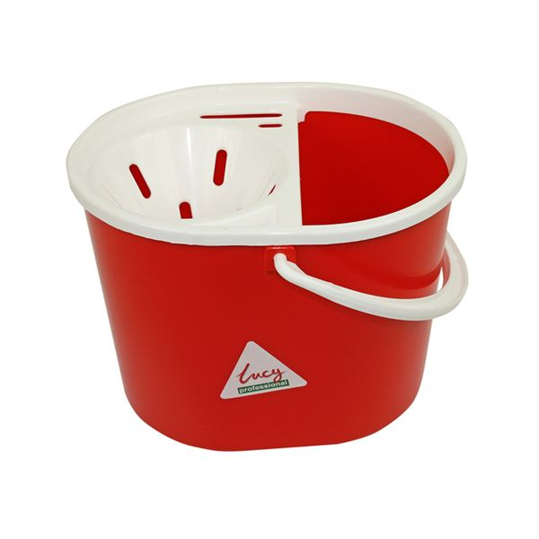 Picture of LUCY PLASTIC MOP BUCKET RED