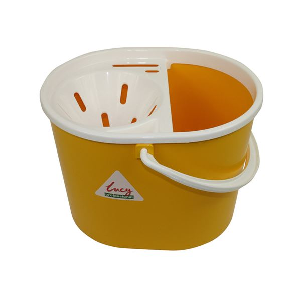 Picture of LUCY PLASTIC MOP BUCKET YELLOW