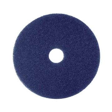 "Picture of 14""  BLUE FLOOR PAD"