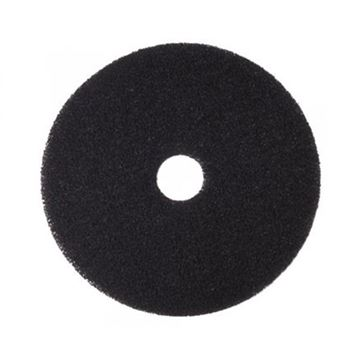 "Picture of 14""  BLACK FLOOR PAD"