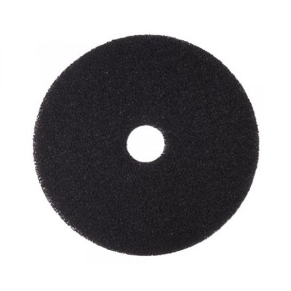 "Picture of 21""  BLACK FLOOR PAD"