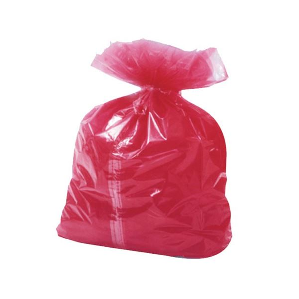 Picture of RED DISSOLVABLE SACKS (Case of 200)