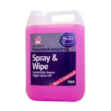 Picture of SPRAY & WIPE BACTERICIDAL - 5 Litre F060