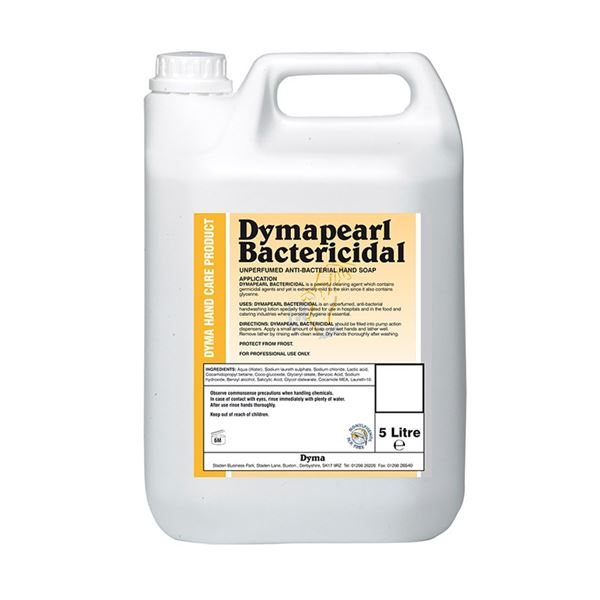 Picture of Dymapearl Anti-bacterial Hand Soap - 5 Litre - C116
