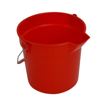 Picture of PROCHEM BUCKET RED - 10 Litre - CN3503