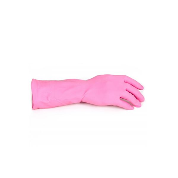 Picture of RUBBER GLOVE (SMALL) RED
