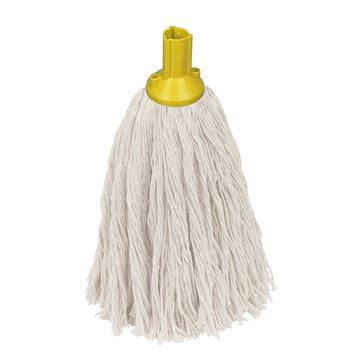 Picture of SOCKET ECLIPSE MOP HEAD NO12 PLASTIC YELLOW (Compatible with EXEL)