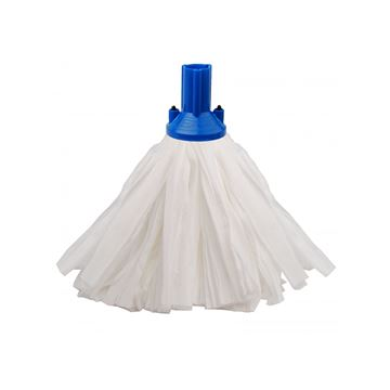 Picture of EXEL BIG WHITE PAPER MOP HEAD BLUE