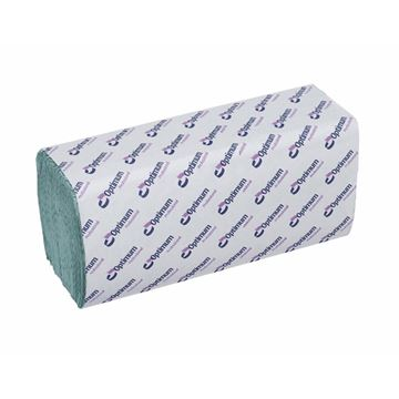 Picture of Interfold 1ply Hand Towel Green (Case of 3600)