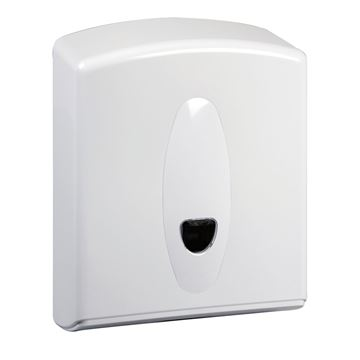 Picture of C FOLD DISPENSER WHITE PLASTIC