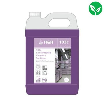 Picture of InnuScience H&H 103c Cleaner and Sanitiser Super Concentrate - 5 litre