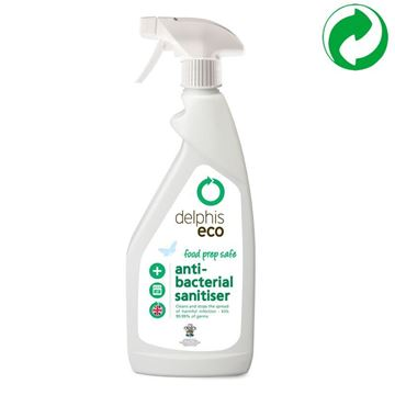 Picture of Delphis Eco Anti-Bacterial Sanitiser Refillable Bottle - 750ml (Case of 6)