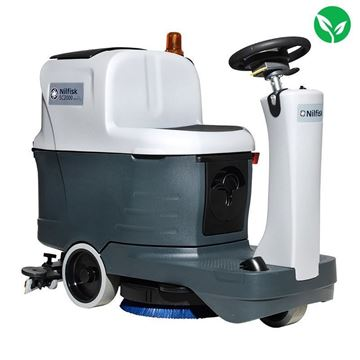 Picture of Nilfisk SC2000 Micro Ride-On Battery Scrubber Dryer