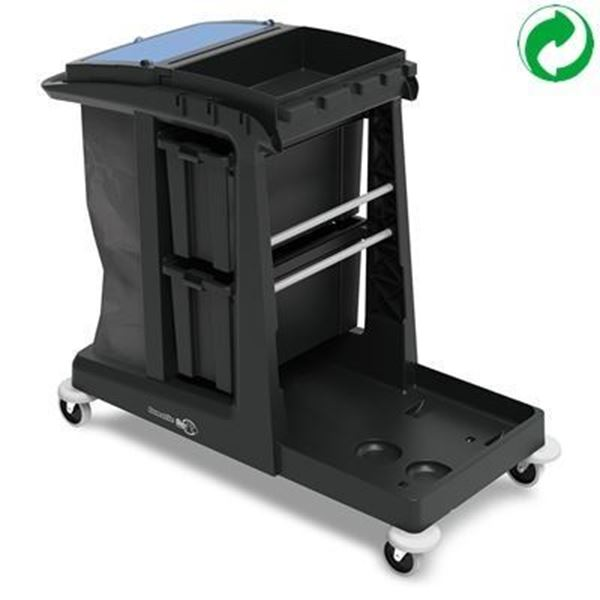 Picture of Numatic Eco-matic EM5 Heavy Duty Janitorial Trolley